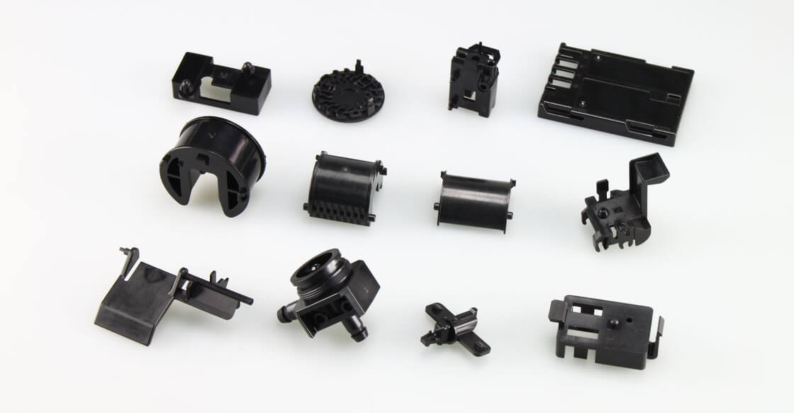 Injection molding parts as conclusion