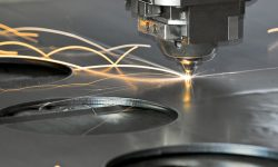 laser cutting in sheet metal prototyping