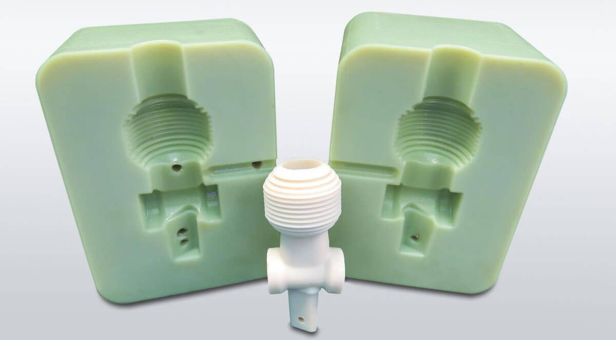 plastic injection molding with 3d printed molds