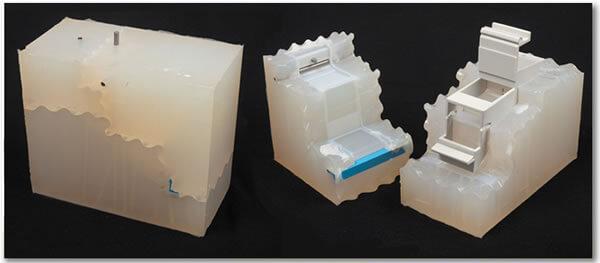 vacuum-casting plastic prototype