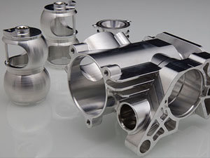 Aluminum Machining CNC Part Object