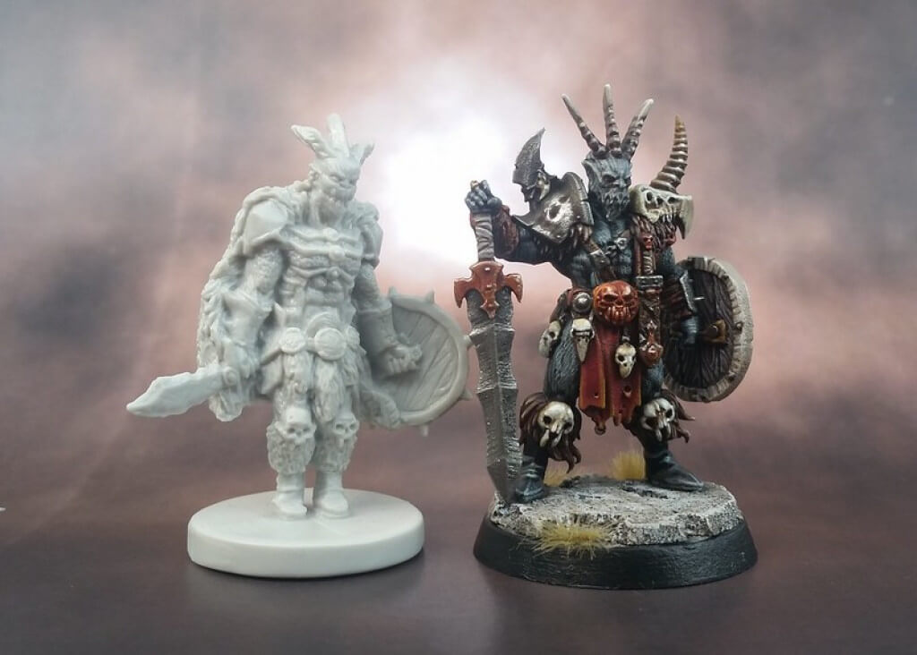 3D Printed Miniatures & Tabletop Games