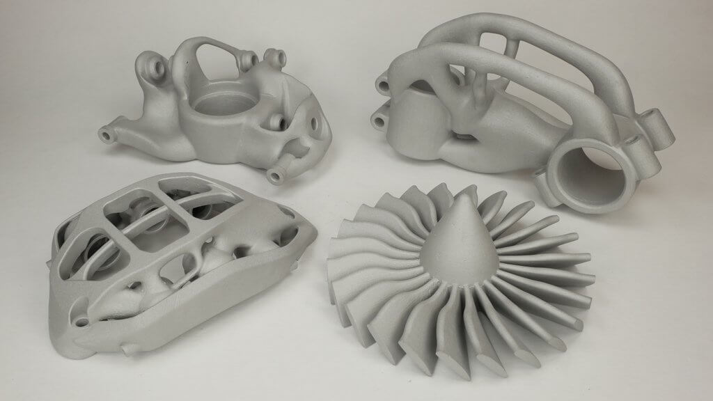 3D metal rapid prototypes