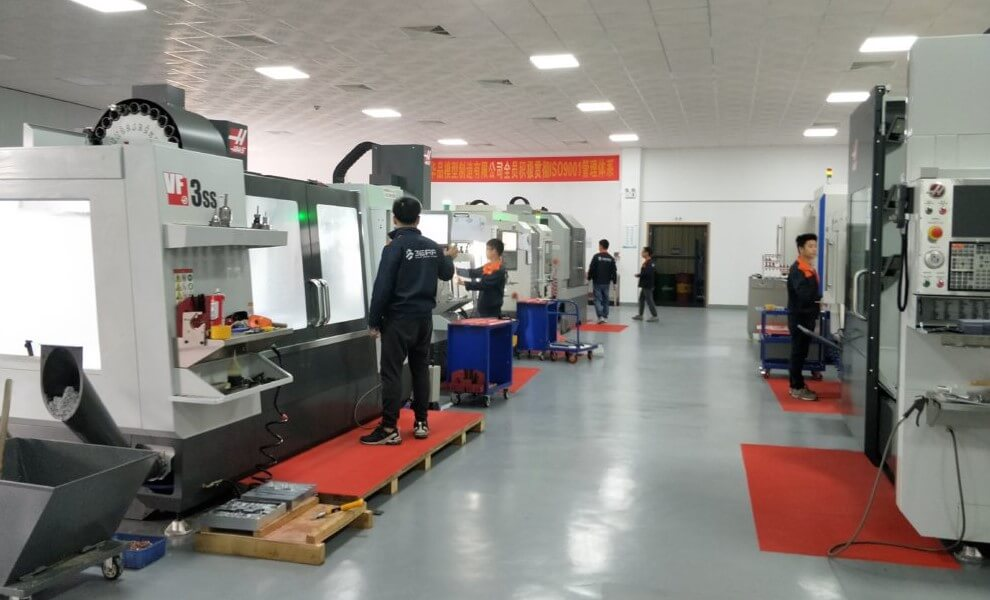 Our CNC Machining Workshop