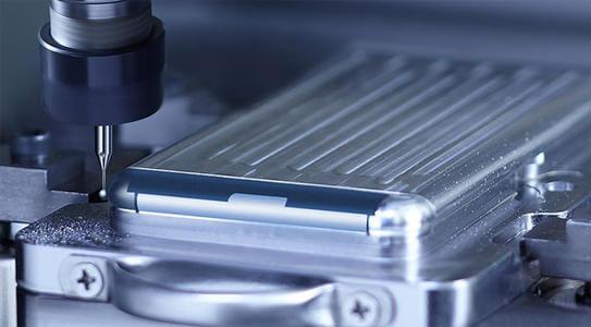 phone component machining