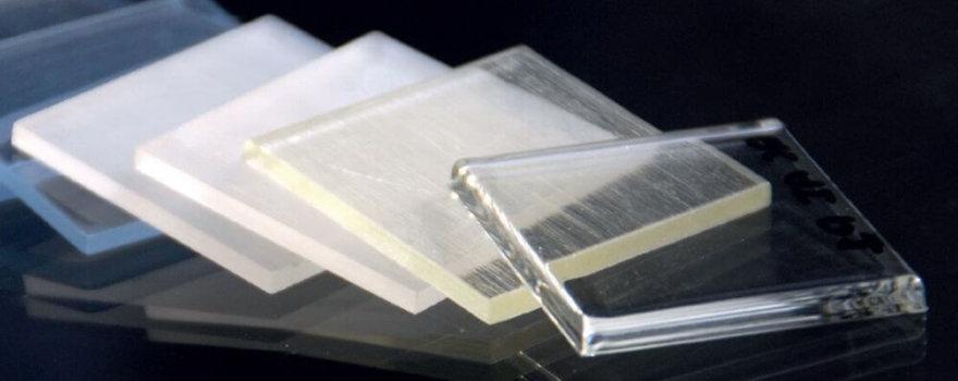 transparent and translucent parts