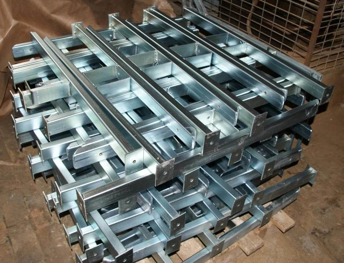 What is galvanization and how can it improve metal parts?